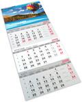 Kalendarz trójdzielny Econo