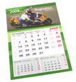 Kalendarz trójdzielny Mini
