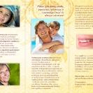 Portfolio: Ulotka składana: Ars Dentica