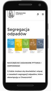 Choszczno.pl strona Segregacja odpadów