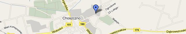Mapa Google - Choszczno, ul. 23 Lutego 3